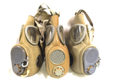 Pair of M10M Czech Gas Masks and 1 M10 Gas Mask