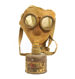 RARE Collectors Type 99 Japanese WWII Gask Mask with Unused Filter and a Nice colored Paper Tag
