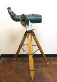 Original WWII Battleship Military Observation Binoculars w/ Crystal Clear Optics and Letters