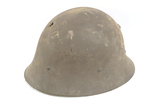 Sweden M26/56 Post-WWII Helmet with Nice Bullet Penetration
