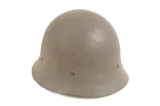 Sweden M26/56 WWII Helmet with 3 Pad Leather Liner & Chin Strap