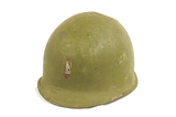 M1 Combat Helmet Rear Seam/Swivel Bale with Lt. Bar, Liner, and Chin strap