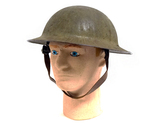 Collector Grade Original WWI US M1917 Doughboy Helmet with Liner & Chinstrap