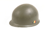 Belgian NATO M1951 Combat Helmet with Liner - Rear Seam/Swivel Bale