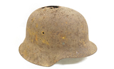 Recovered Dug German M42 War Relic Helmet