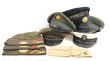 Various USMC/USN Caps -  Overseas Army Officer/Lt. Cap, Bancroft Naval Dress USN Cap, & More