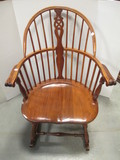 Wood Windsor Style Rocker