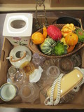 Miscellaneous Household Items - Tissue Cover, Slimline Phone, Fruit Basket, Etc.