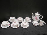 Moss Rose Coffee/Tea Set