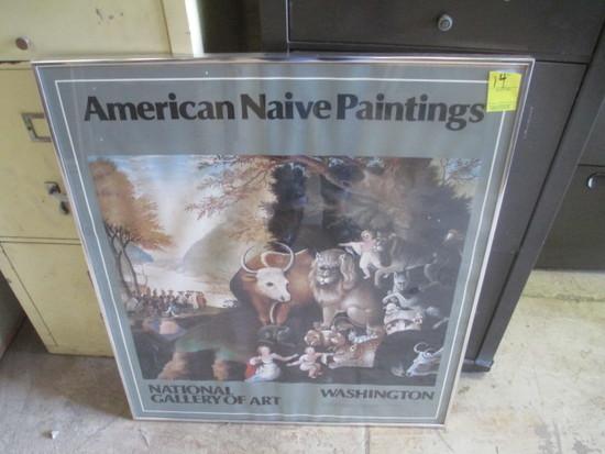 American Native Museum of Art Print