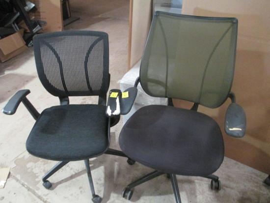 2 Nice Office Chairs w/lumbar back