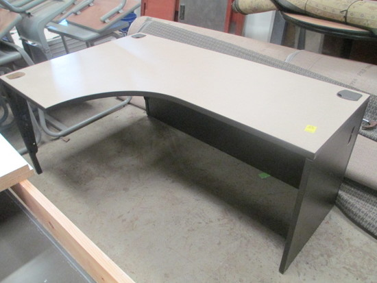Curved Front Cubicle Desk