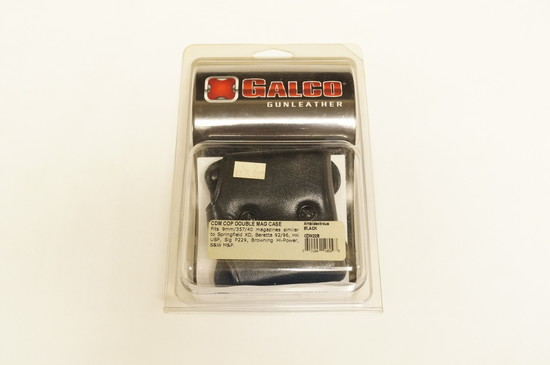 NIB Galco Gunleather - CDM22B - CDM Cop Double Mag Case - See Pics for Fit