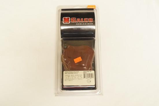 NIB Galco Gunleather - SPD158 - Speed Paddle Holster - Revolver