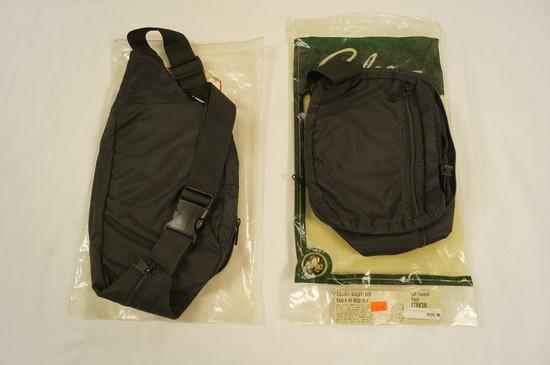 NIB Galco Gunleather - (2) Escort Waist Pack Holsters - Left Handed - ETBK3M - See Pics
