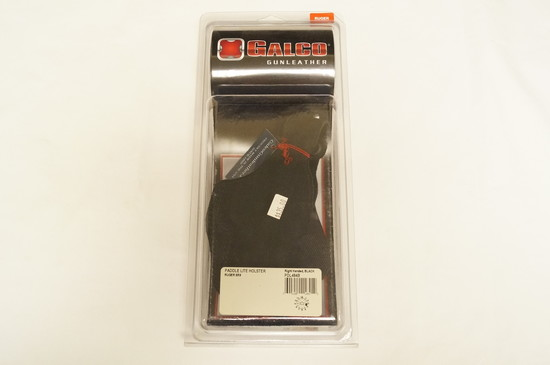 NIB Galco Gunleather - PDL484B - Paddle Lite Holster - Ruger SR9