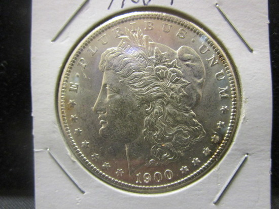Morgan Silver Dollar- 1900
