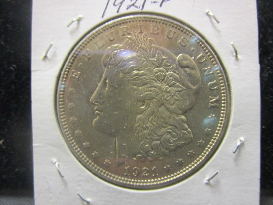 Morgan Silver Dollar- 1921