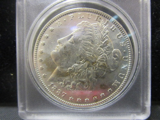 Morgan Silver Dollar-1887