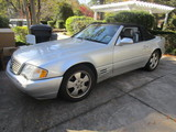 2000 Mercedes Benz SL Convertible