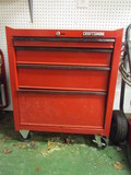 Craftsman 4 Drawer Tool Chest on Locking Casters
