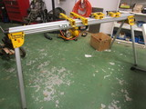 DeWalt Miter Saw Stand, Tool Stand Mounting Brackets and Support/Stop