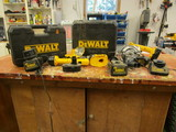 Large Lot of DeWalt Tools-Drills, Saws, Chargers, Batter, Cases, etc.