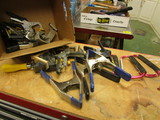 Various Clamps: C-Clamps, Spring Clamps, etc.