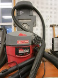 Craftsman 5 Gallon Wall Mount 5HP Vacuum with Attachments