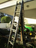 12' Aluminum Extension Ladder