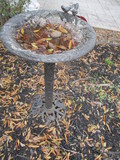 Cast Metal Bird Bath
