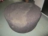 La-Z-Boy Round Upholstered Rolling Ottoman