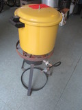 Propane Cooker and Presto Pressure Cooker/Canner