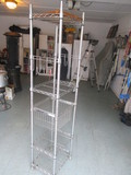 Shelftech System Stainless Steel Rolling Utility Cart