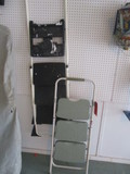 Stepright 3 Step Ladder and Cosco 3 Step Ladder