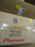 New Old Stock Pioneer DPD-S38 Speaker System and PWM-F110 Flat