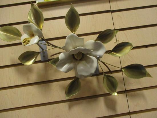 Metal Magnolia Wall Art