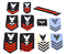 Various Original US Navy WWII Patch Insignias - See Pics
