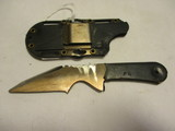 Double Edge Hideaway Boot Knife