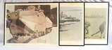 3 US Marine Corps Art Collection Prints by P.M. Gish & D.M. Camp USMCR