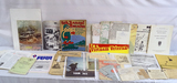 Large Lot of Various Military Propaganda, Magazines, Ads, Post Cards, maps & more