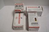 400rds. Of .380 Auto 95gr. FMJ Winchester Ammunition