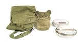 1971 US Army Duffel Bag, 1951 & 1959 Mess Kits, 1967 and 1956 Canteen Covers