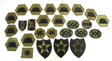 Various OD Green Patches - See Pics