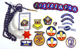 Various Patches ft. Army Central (3rd Army) Class A Patches More