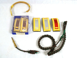 Various US Army Shoulder Boards w/ USMC Marine Corps Fourragere Shoulder Cord