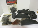 Large Lot of Various Nice Holsters