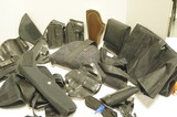 Large lot of Gun Holsters, and cases - See pics