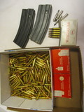 Aprox. 356rds of .223 Rem and 5.56mm & 2 Govt Use Magazines