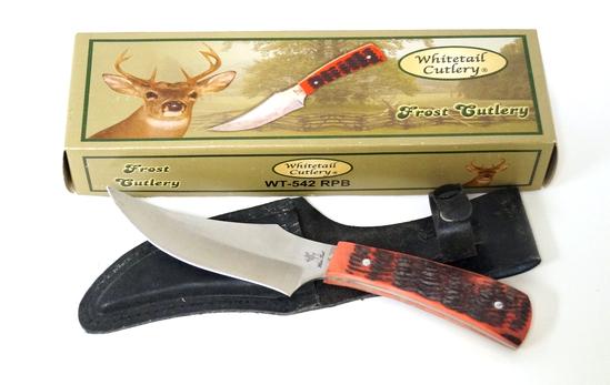 NIB Whitetail Cutlery Fixed Blade Knife